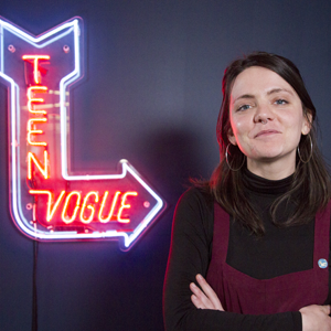 Teen Vogue, represented by Allison Maloney, News and Politics Editor