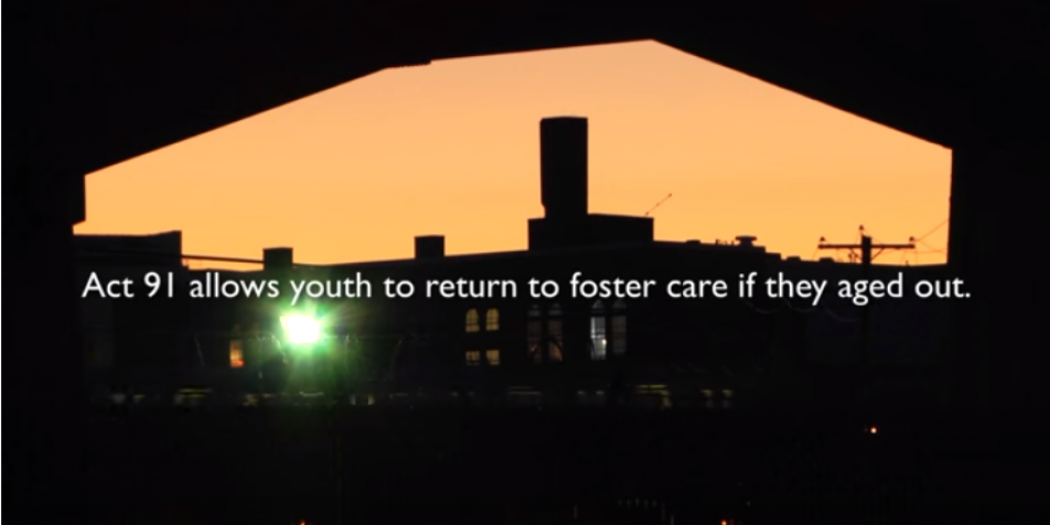 Pennsylvania's Act 91: Law on Re-Entering Foster Care