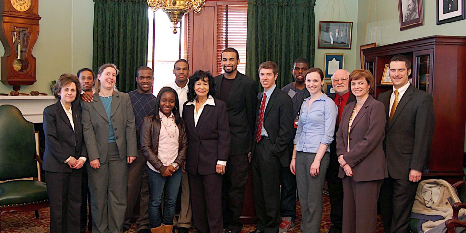 YFC youth advocates in Harrisburg, PA in 2010.