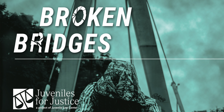 "Cover image from ""Broken Bridges"" report."